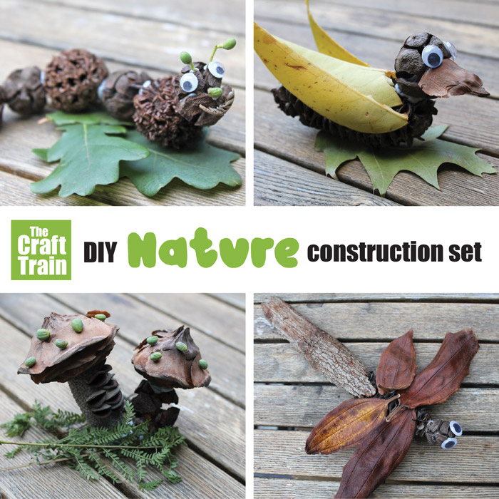 DIY nature craft construction set