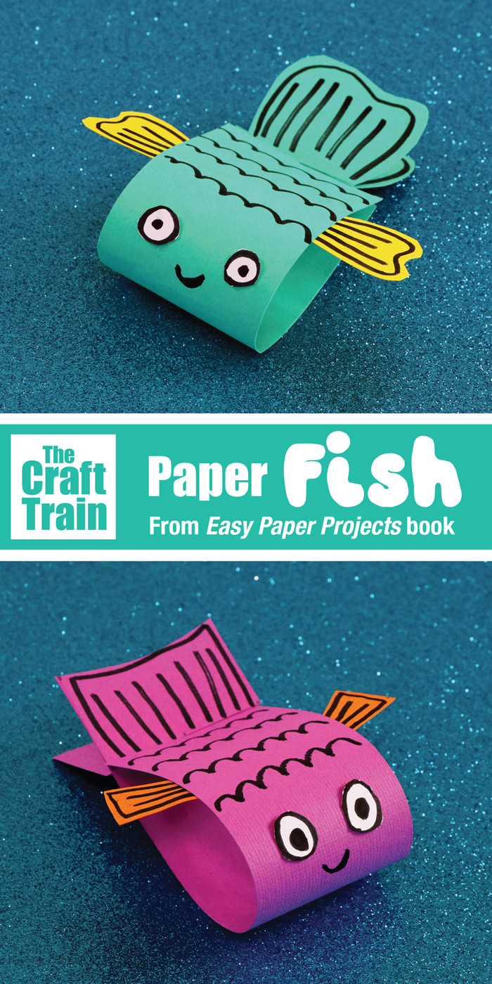Paper Fish Craft The Craft Train