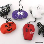 Halloween salt dough ornaments kids can make
