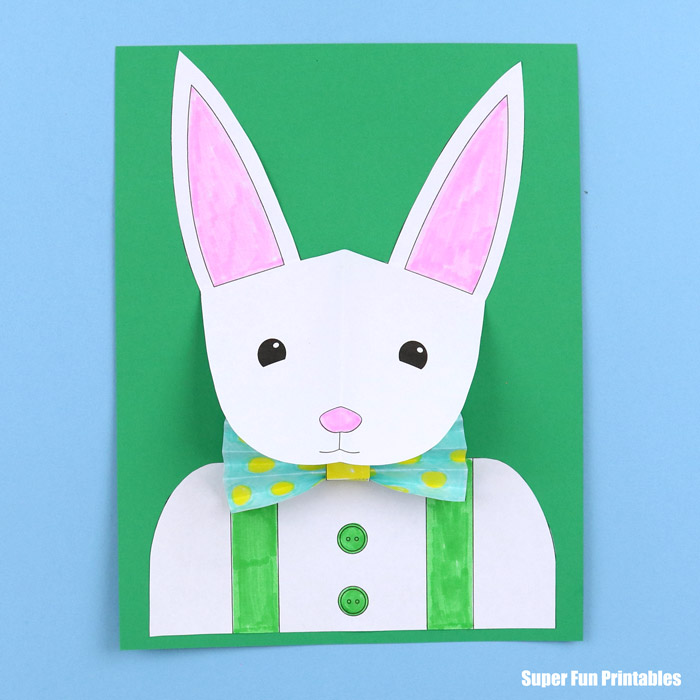 Origami Bunny Rabbit Tutorial - Paper Kawaii | 700x700