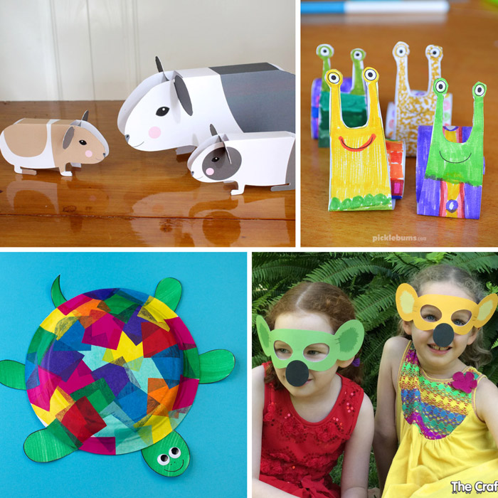 free animal printables for kids