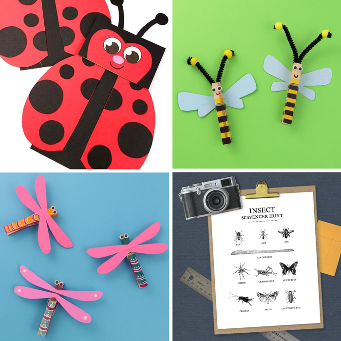free printable insect craft ideas