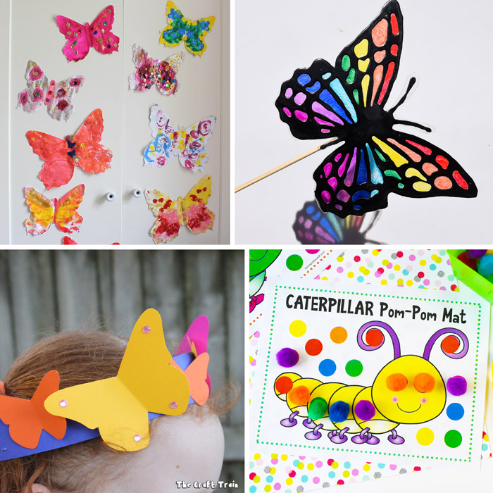 free printable butterfly crafts and activities for kids