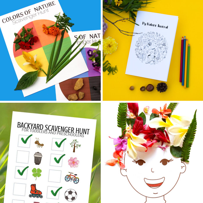 free nature printables kids will love