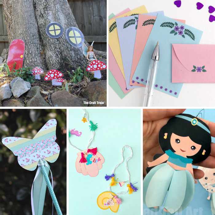 free printables with a fairy or princess theme