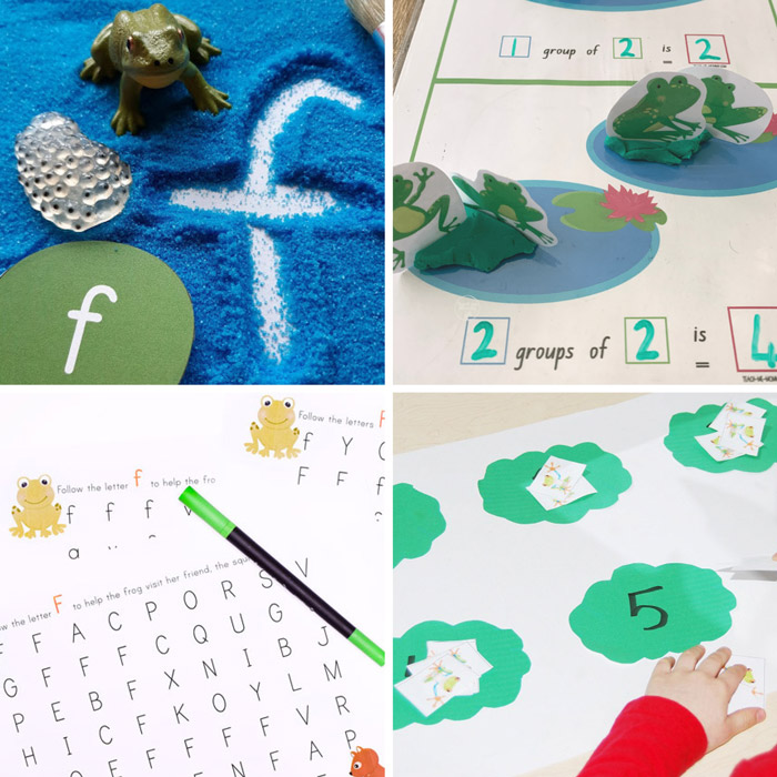 educational frog themed activities