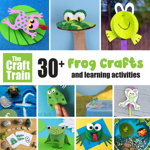 Frog crafts and activities for kids