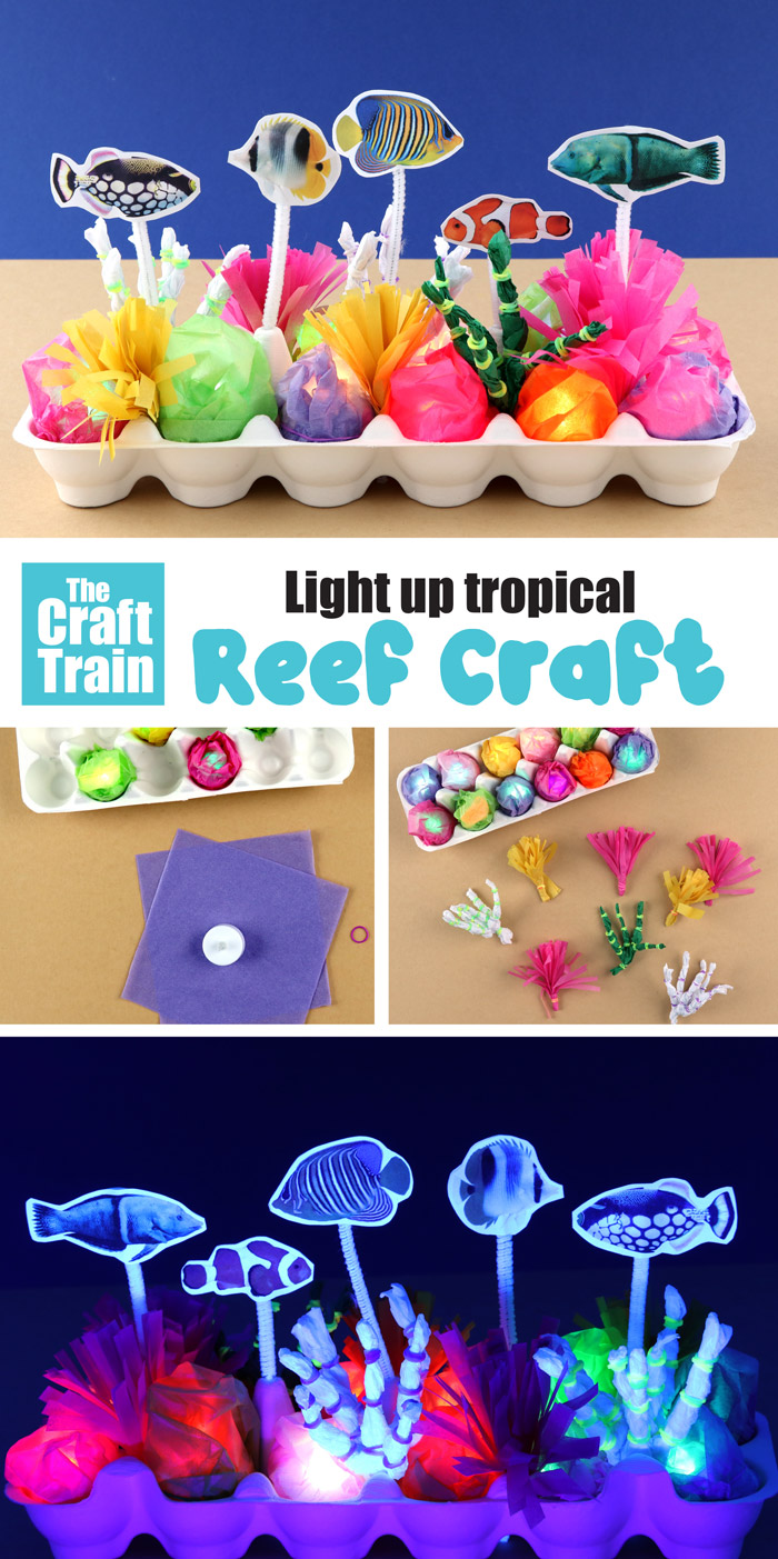 Fun reef craft idea for kids