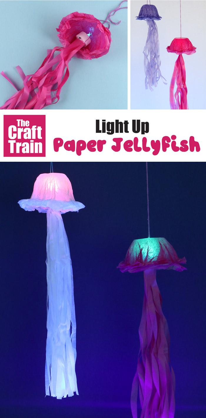 light up paper jellyfish