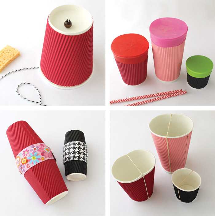 Paper cup music crafts