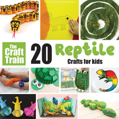 reptile crafts for kids – make snakes, lizards, geckos, turtles ... so much creative reptilian fun!