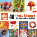 over 40 Fall crafts and activities for kids