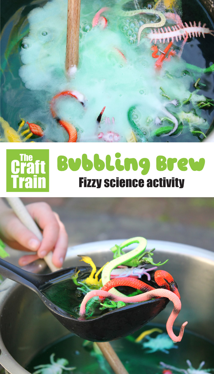 bubbling brew fizzing science activity for kids