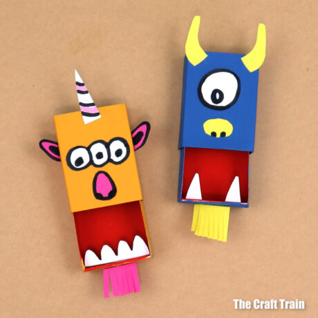 matchbox monster with mouths open
