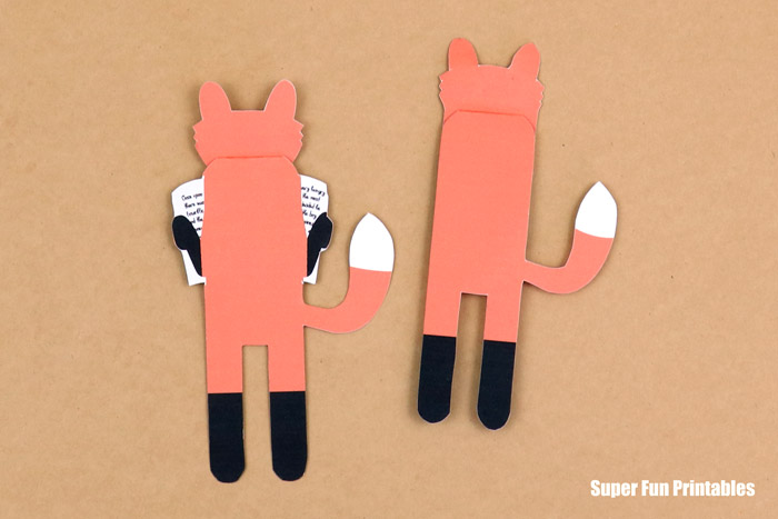 fox bookmarks from back