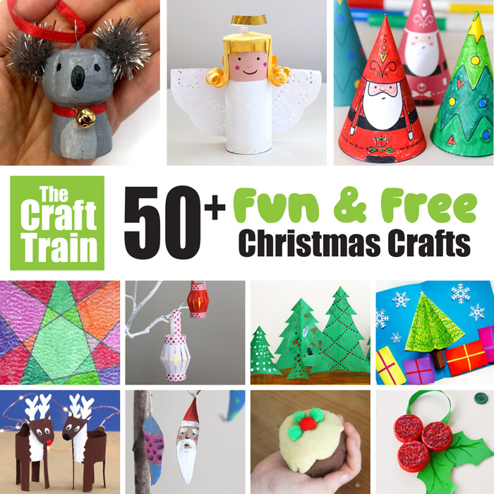 Free Christmas crafts