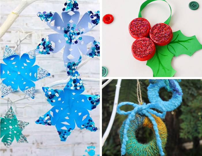 More free Christmas ornament crafts