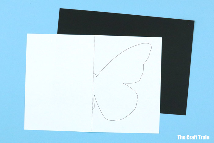 butterfly painting template