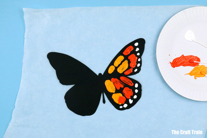 butterfly painting art project for kids