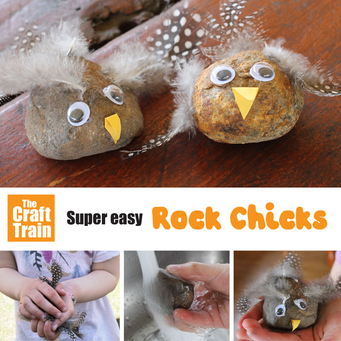 easy rock chick craft for kids