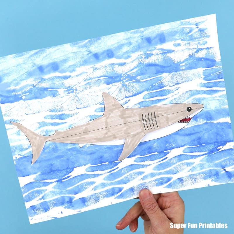 hand held shark craft