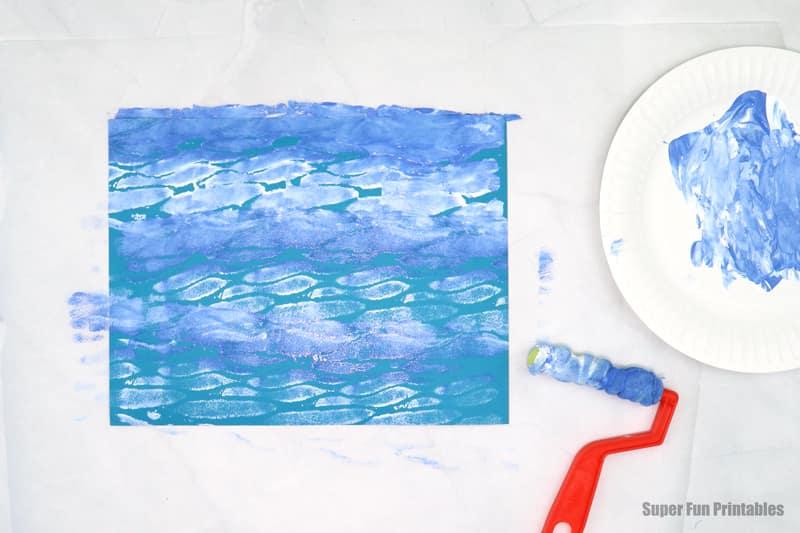 ocean painting idea