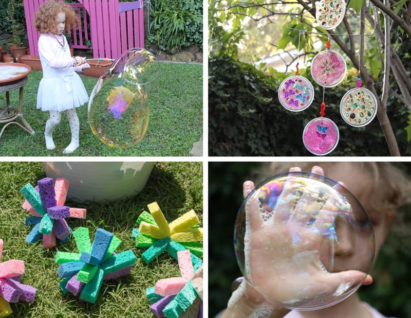 more outdoor creative ideas for kids