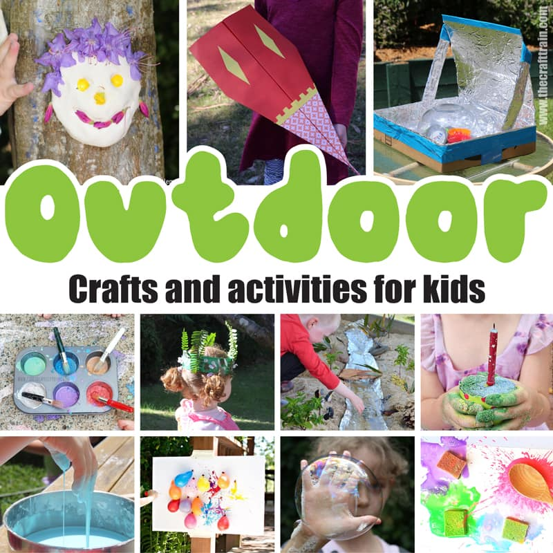 over 40 fun outdoor activities and crafts for kids