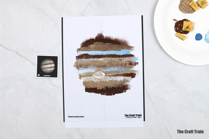 Jupiter art step 1