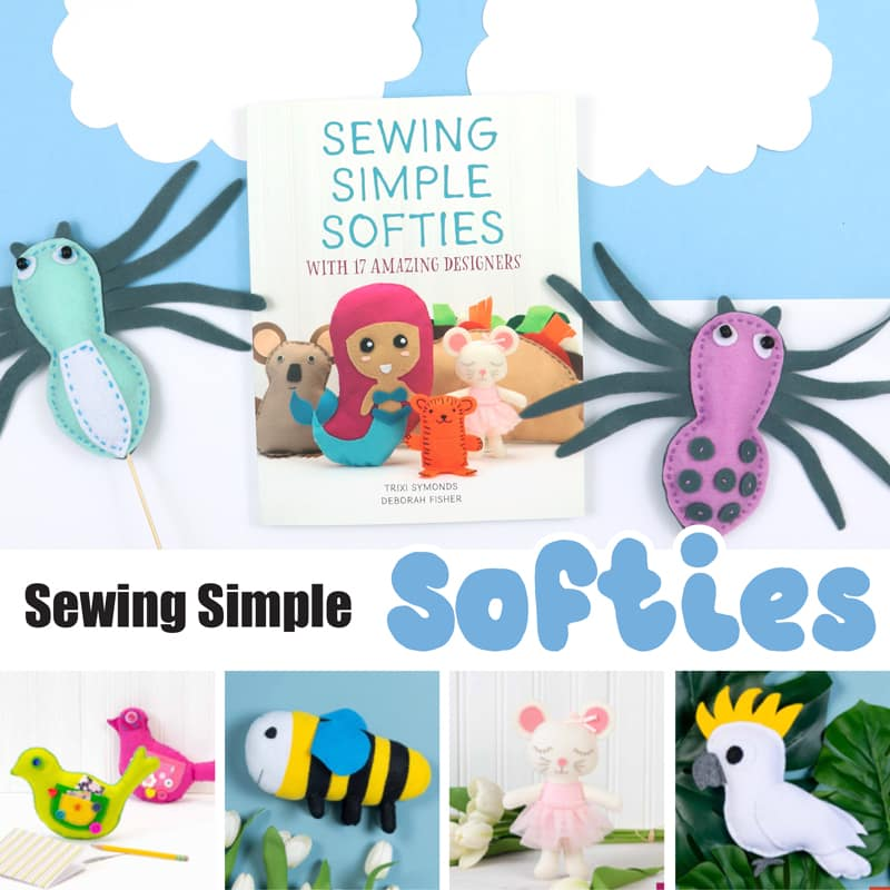 Softies sewing crafts for kids