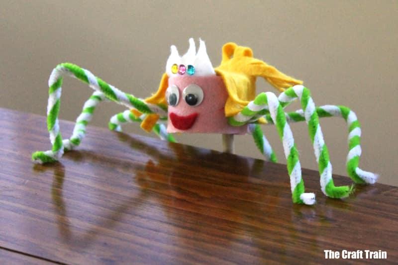 spider puppet idea