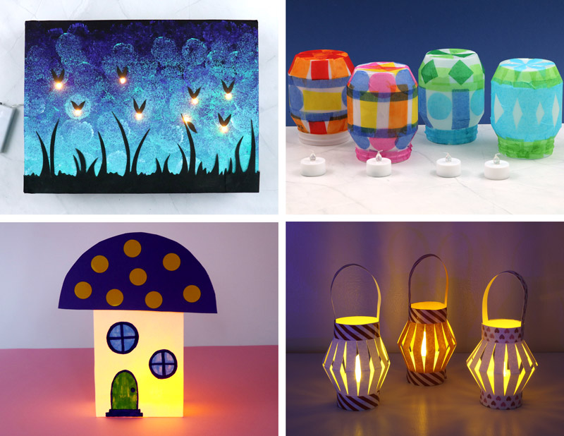 light up craft ideas for kids