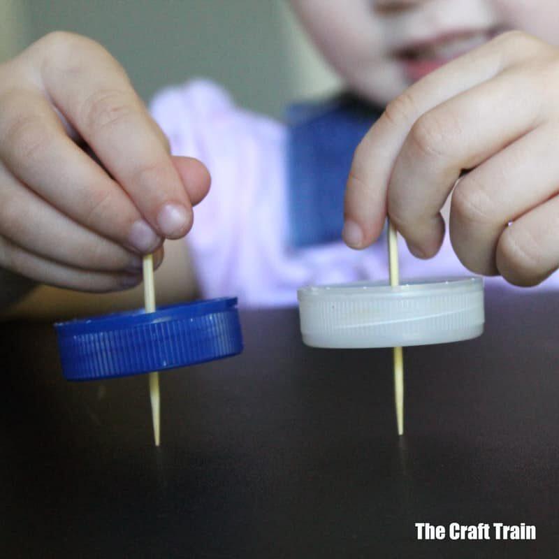Easy DIY spinning top