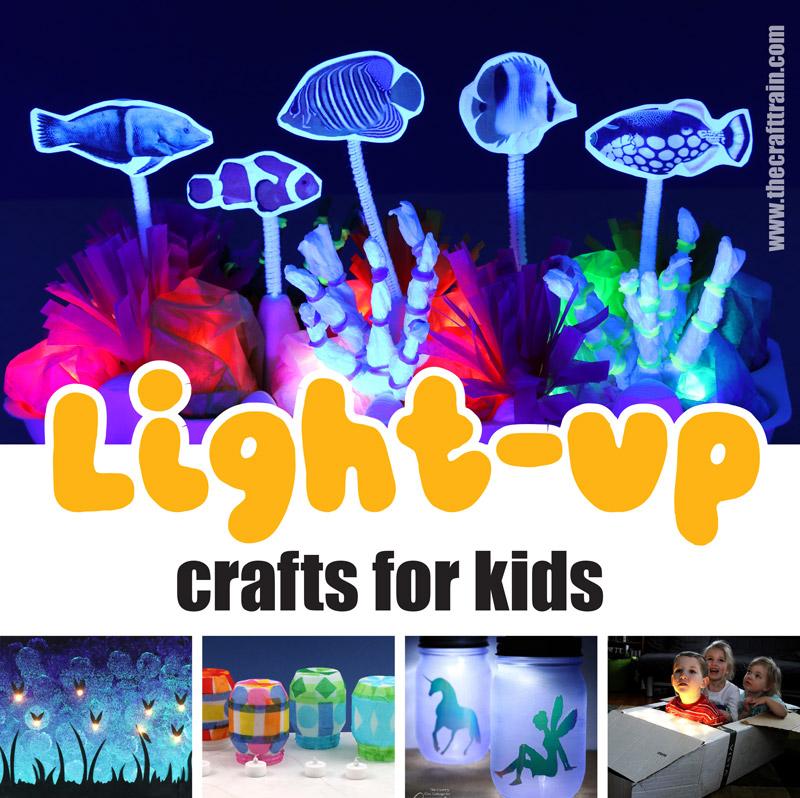Light up crafts for kids