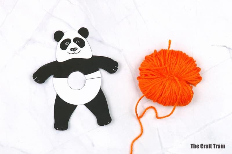 pom pom panda steps